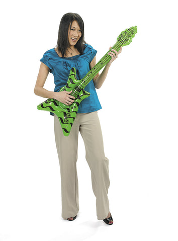 "INFLATABLE - GUITAR 42"" ""V""  ASST. COLORS"