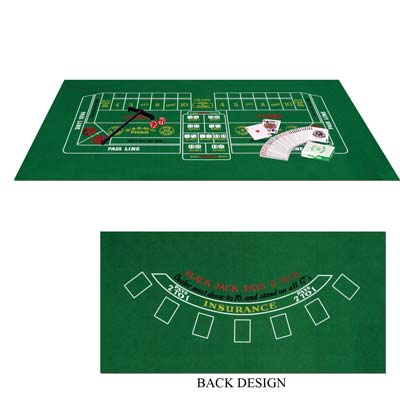 Blackjack / Craps Home Casino Set