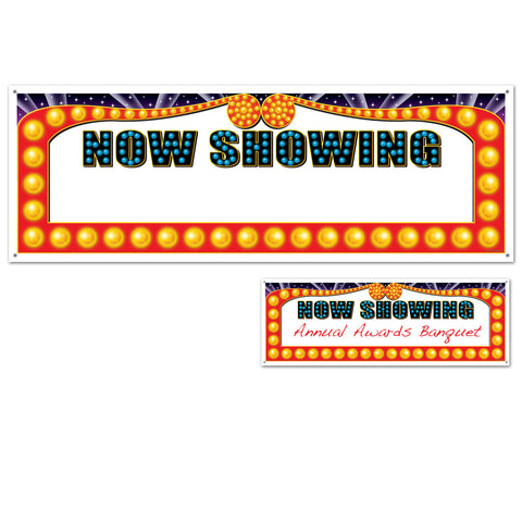 BANNER - NOW SHOWING