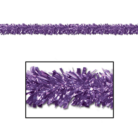 GARLAND - PURPLE METALLIC 15' X 4""