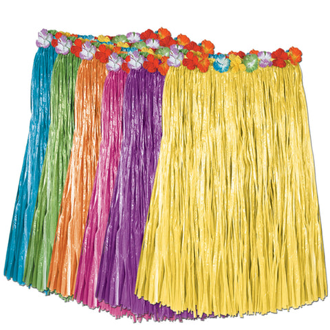 HULA SKIRT - ASST COLORS