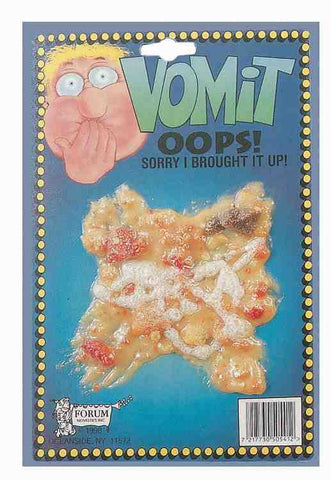 VOMIT - OOPS! SORRY I BROUGHT IT UP!