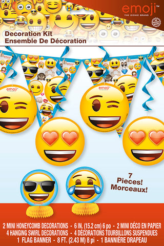 EMOJI DECORATION KIT 7PCS/PKG