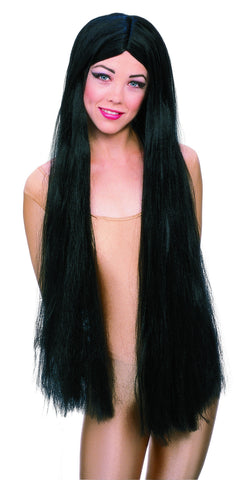 WIG - LONG WITCH BLACK