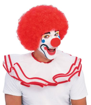 POPULAR RED CLOWN WIG - ADULT