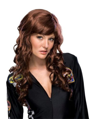 BRUNETTE MOVIE STARLET WIG - ADULT