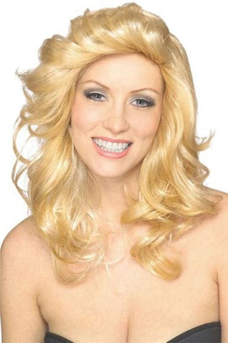 70'S BLONDE ANGEL WIG - ADULT