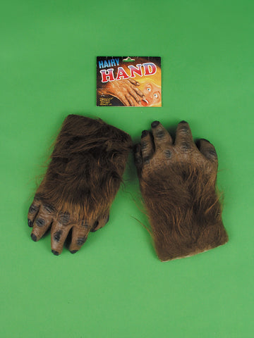 HAIRY HANDS - BROWN