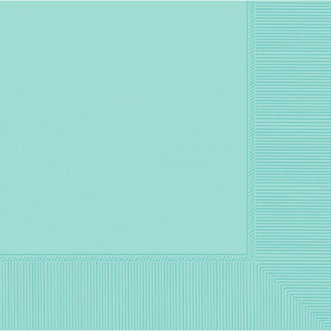DINNER NAPKINS - ROBIN'S EGG BLUE      20 COUNT