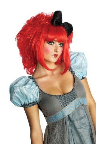 CUTIE DOLL RED WIG - ADULT