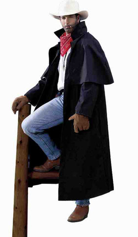 COSTUME - DUSTER COAT                    ADULT