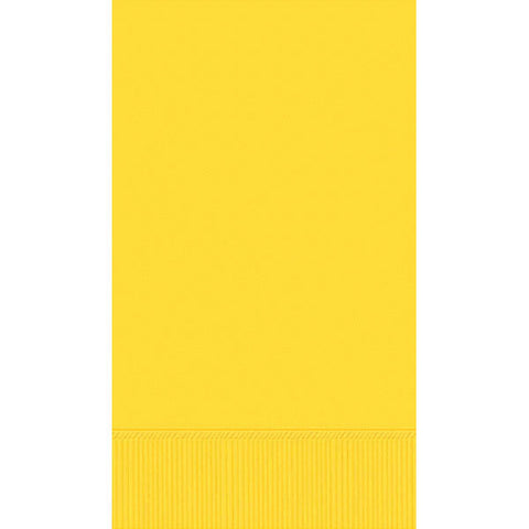 GUEST TOWEL - YELLOW