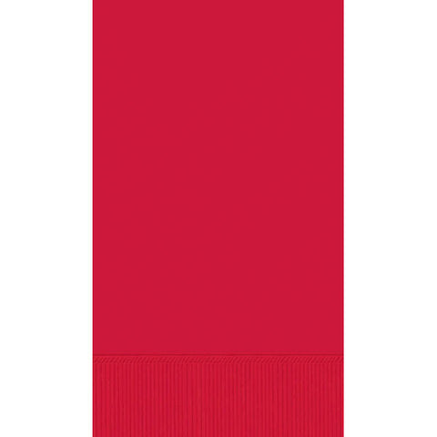 GUEST TOWEL - APPLE RED