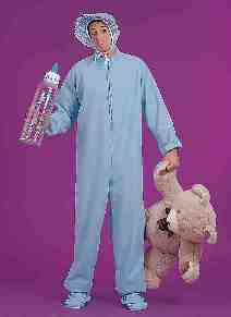BLUE JAMMIES COSTUME - ADULT
