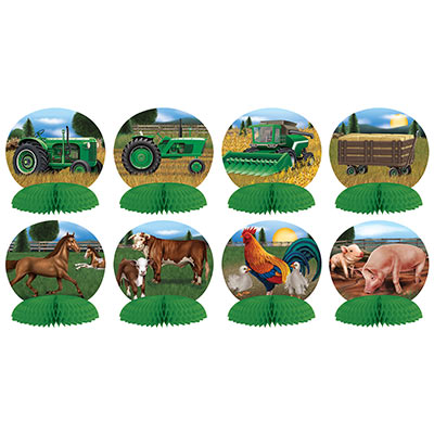 Mini Farm Centerpieces