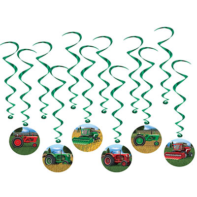 Hanging Tractor Whirls
