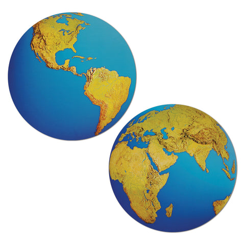 PLANET EARTH CUTOUT EACH