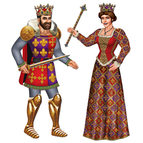 CUTOUT - KING & QUEEN
