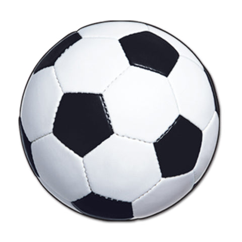 "CUTOUT - SOCCER BALL 13 1/2""              EACH"