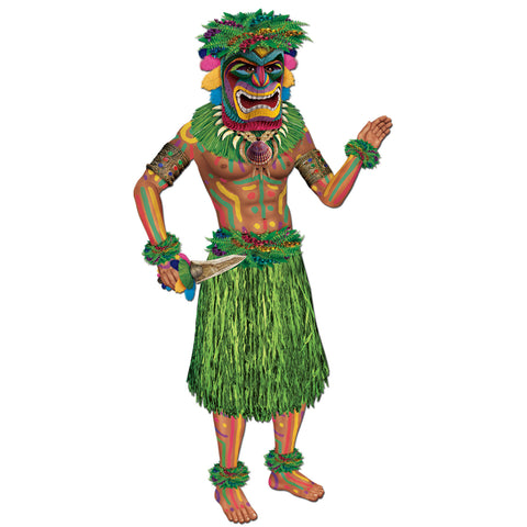 TIKI MAN JOINTED CUTOUT