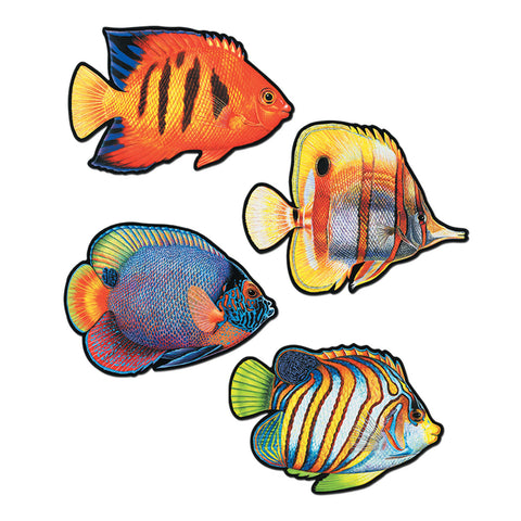 CUTOUT - CORAL REEF FISH