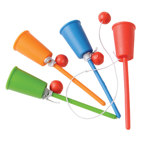 GAME - CUP AND BALL                 12 CT/PKG