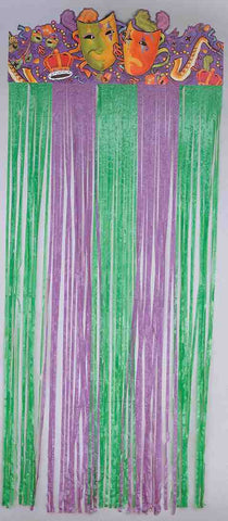 MARDI GRAS DOOR CURTAIN