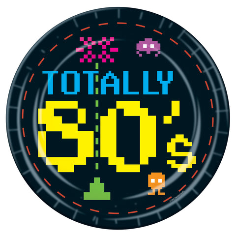PLATE - TOTALLY 80'S