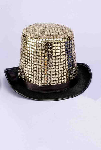 HAT - TOP SEQUIN  GOLD