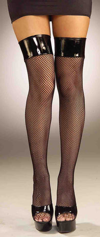 THIGH HIGHS - FISHNET