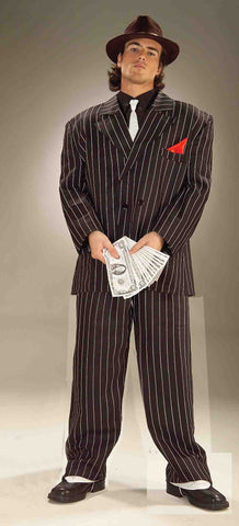 ROARING 20'S GANGSTER ADULT COSTUME  UP TO 44