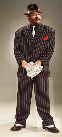 ROARING 20'S GANGSTER ADULT COSTUME  UP TO 48
