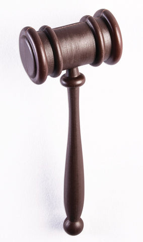 PLASTIC BROWN GAVEL 10""