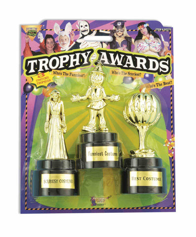COSTUME TROPHY AWARDS               3 PCS/ CARD