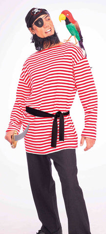 STRIPED PIRATE SHIRT R&W