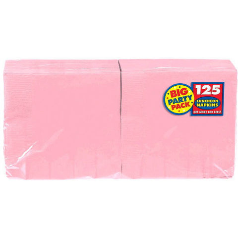 NAPKIN - NEW PINK 125 CT/PKG       LUNCHEON