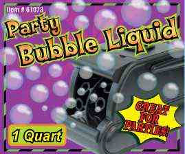 PARTY BUBBLE LIQUID