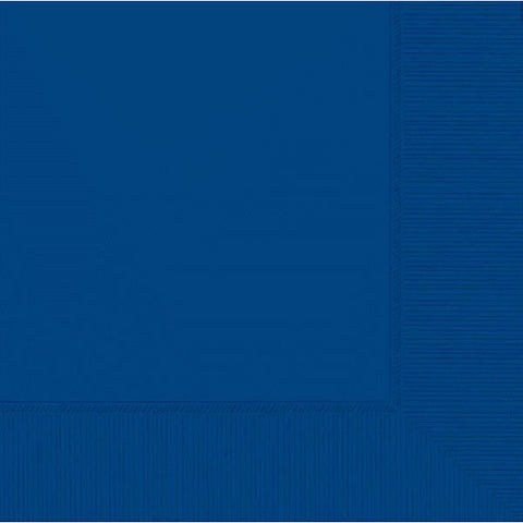 LUNCHEON NAPKINS - ROYAL BLUE      50 CT/PKG