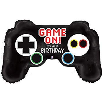 GAME CONTROLLER SHAPE MYLAR BALLOON