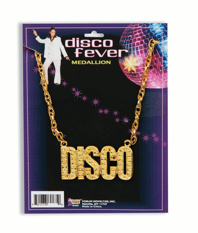 Disco Necklace Pendant