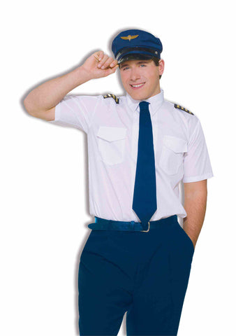 CO-PILOT MILE HIGH AIRLINES COSTUME - ADULT