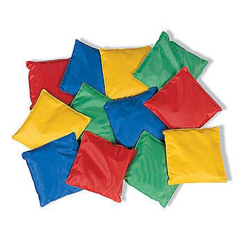 ASSORTED COLOR BEAN BAGS