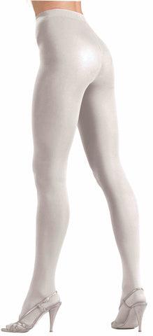 TIGHTS - WHITE      SOLID