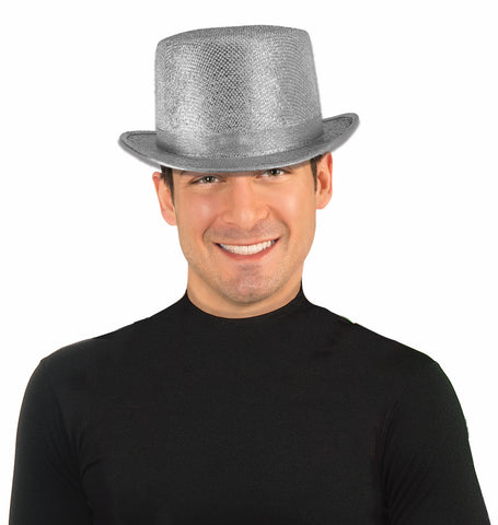 SILVER MESH TOPHAT