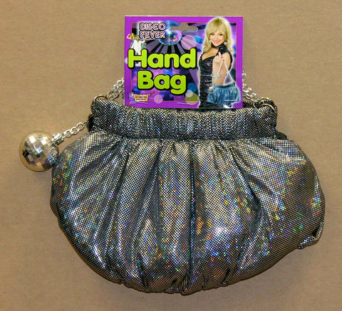 Disco Hand Bag with Chain Strap