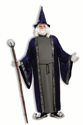 Wizard Adult Costume - Plus Size