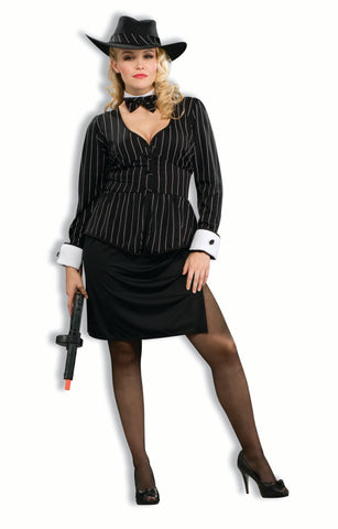 Gorgeous Gangster - Adult Plus Costume