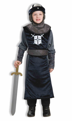 KNIGHT OF THE ROUND TABLE COSTUME  CHILD  MEDIUM