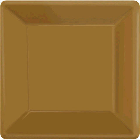 PLATE - GOLD