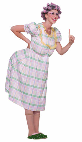 AUNT GERTIE OLD LADY COSTUME - ADULT